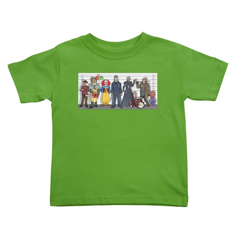 Modern Monsters Kids Toddler T-Shirt by bobtheTEEartist's Artist Shop