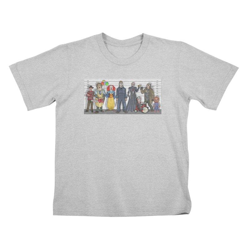 Modern Monsters Kids T-Shirt by bobtheTEEartist's Artist Shop