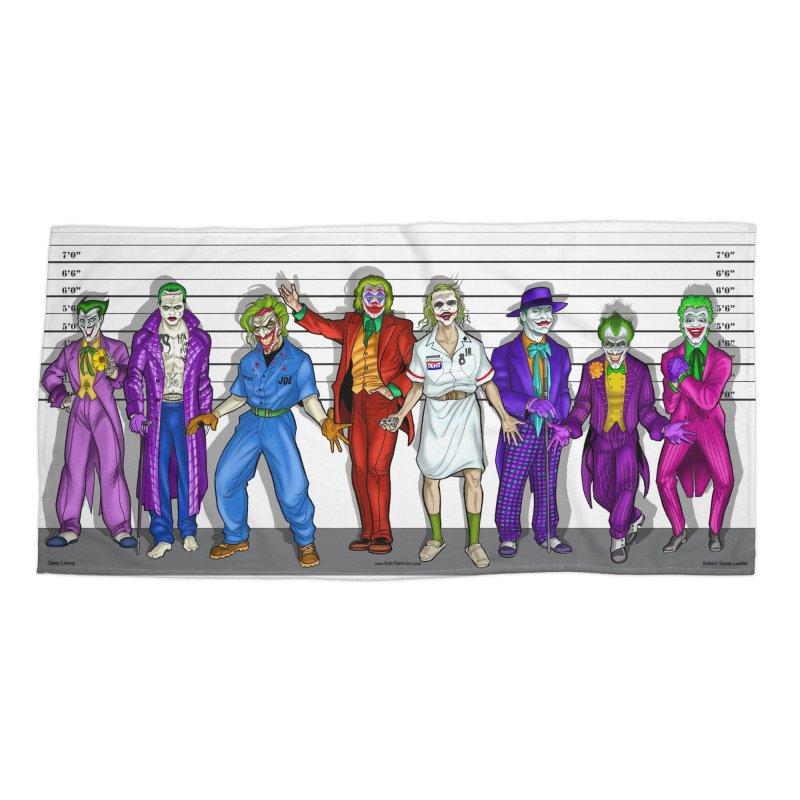 Lot's 'O Jokers Accessories Beach Towel by bobtheTEEartist's Artist Shop