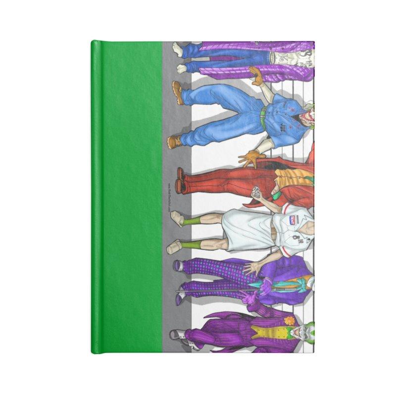Lot's 'O Jokers Accessories Notebook by bobtheTEEartist's Artist Shop