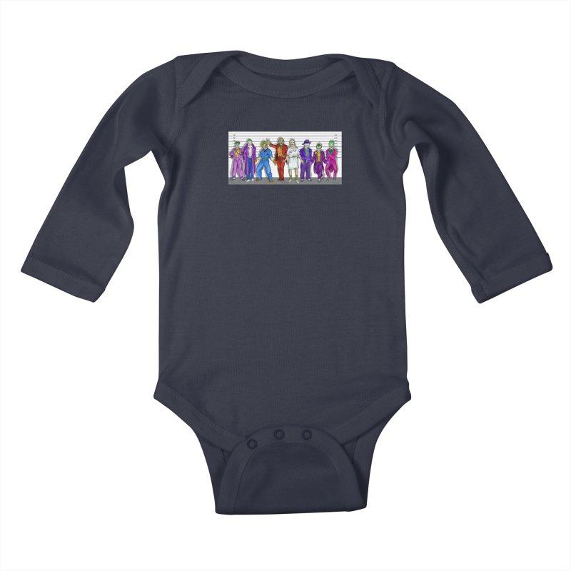 Lot's 'O Jokers Kids Baby Longsleeve Bodysuit by bobtheTEEartist's Artist Shop