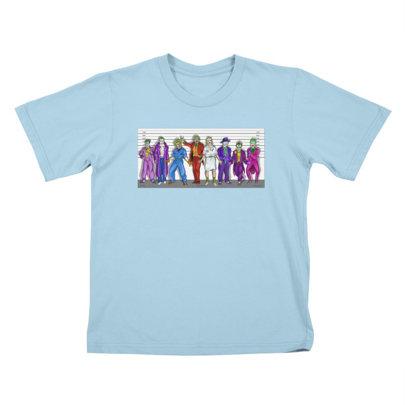 Lot's 'O Jokers Kids T-Shirt by bobtheTEEartist's Artist Shop