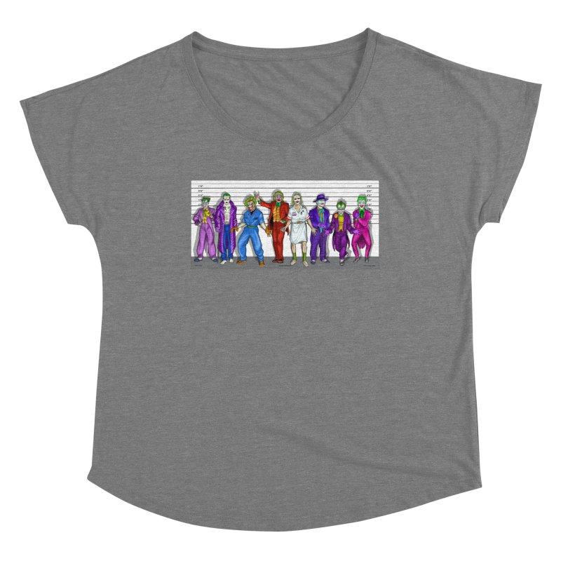 Lot's 'O Jokers Women's Scoop Neck by bobtheTEEartist's Artist Shop