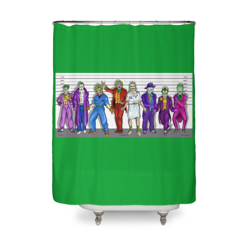 Lot's 'O Jokers Home Shower Curtain by bobtheTEEartist's Artist Shop