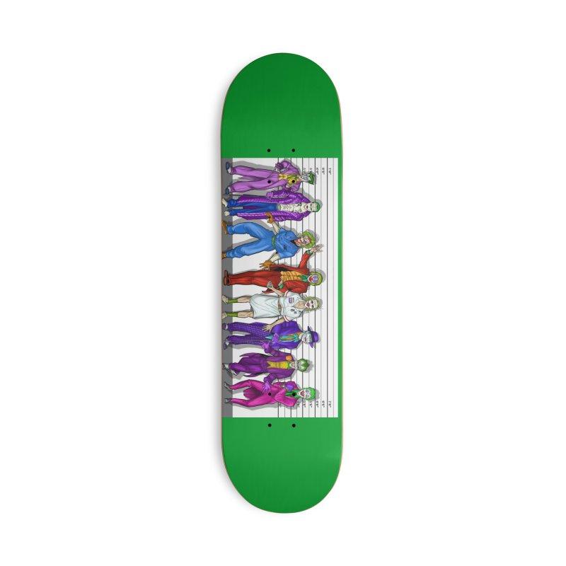 Lot's 'O Jokers Accessories Skateboard by bobtheTEEartist's Artist Shop