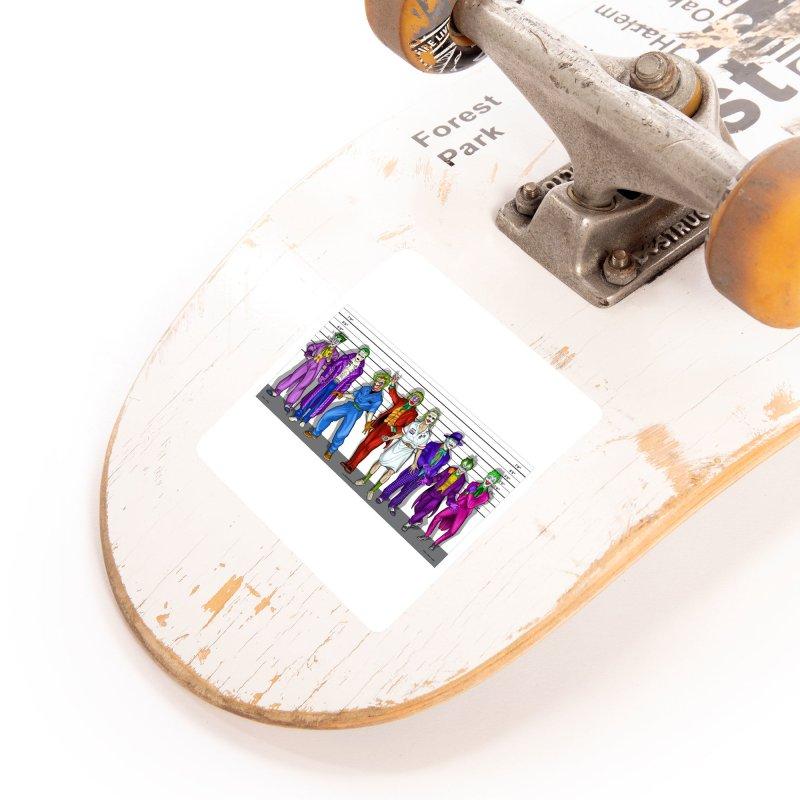 Lot's 'O Jokers Accessories Sticker by bobtheTEEartist's Artist Shop