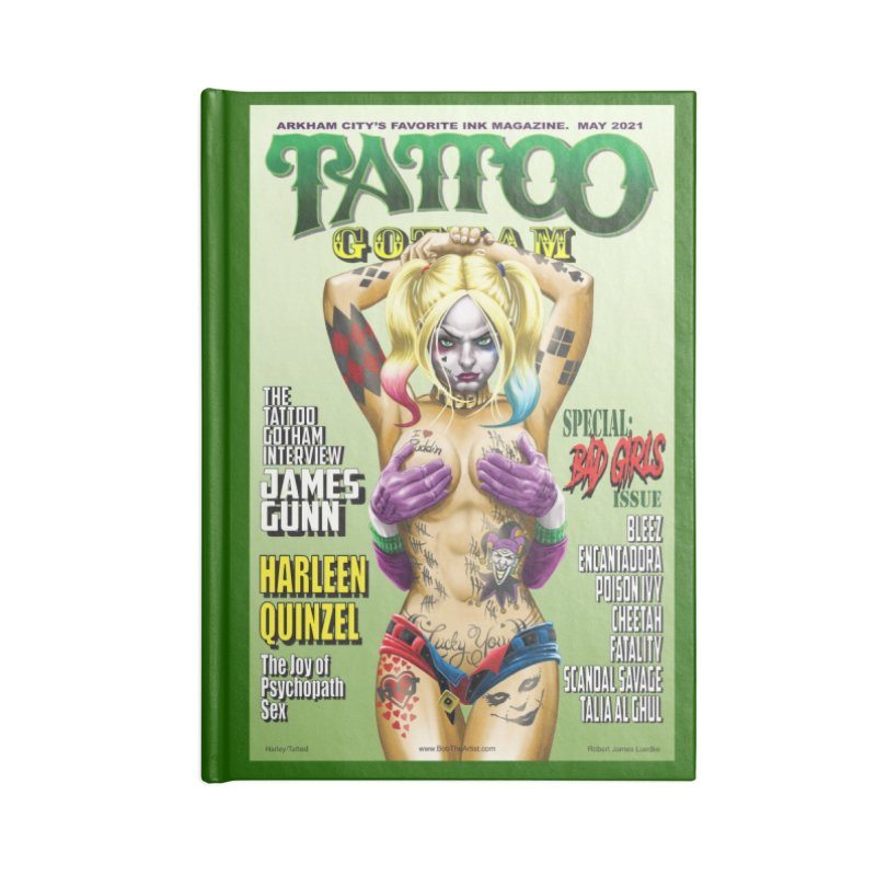 tatted Harley Accessories Notebook by bobtheTEEartist's Artist Shop