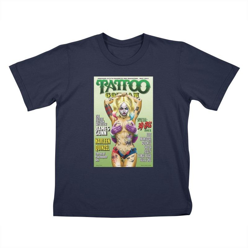tatted Harley Kids T-Shirt by bobtheTEEartist's Artist Shop