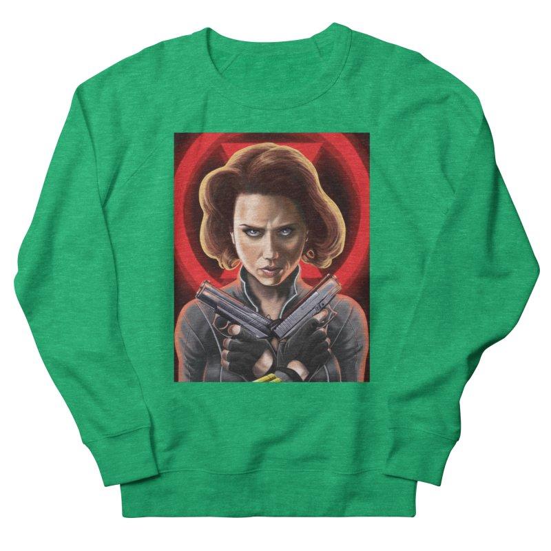 Black Widow (Black Costume) Women's Sweatshirt by bobtheTEEartist's Artist Shop
