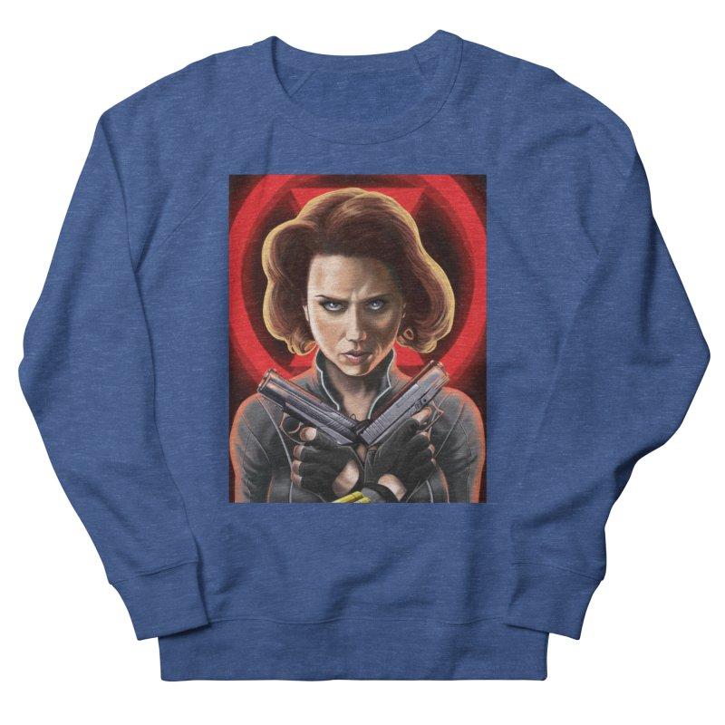 Black Widow (Black Costume) Men's Sweatshirt by bobtheTEEartist's Artist Shop