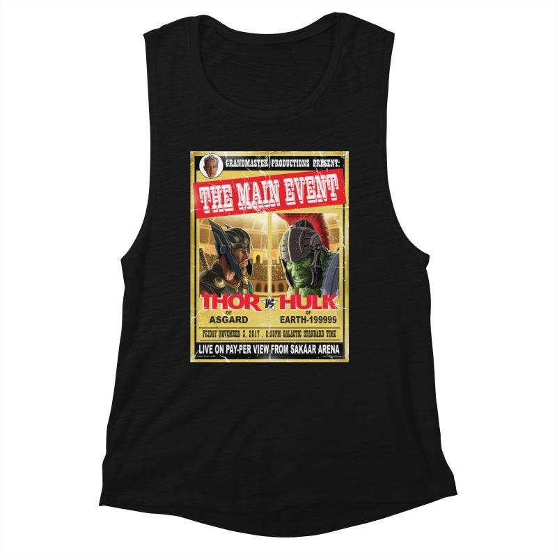 The Main Event Women's Tank by bobtheTEEartist's Artist Shop