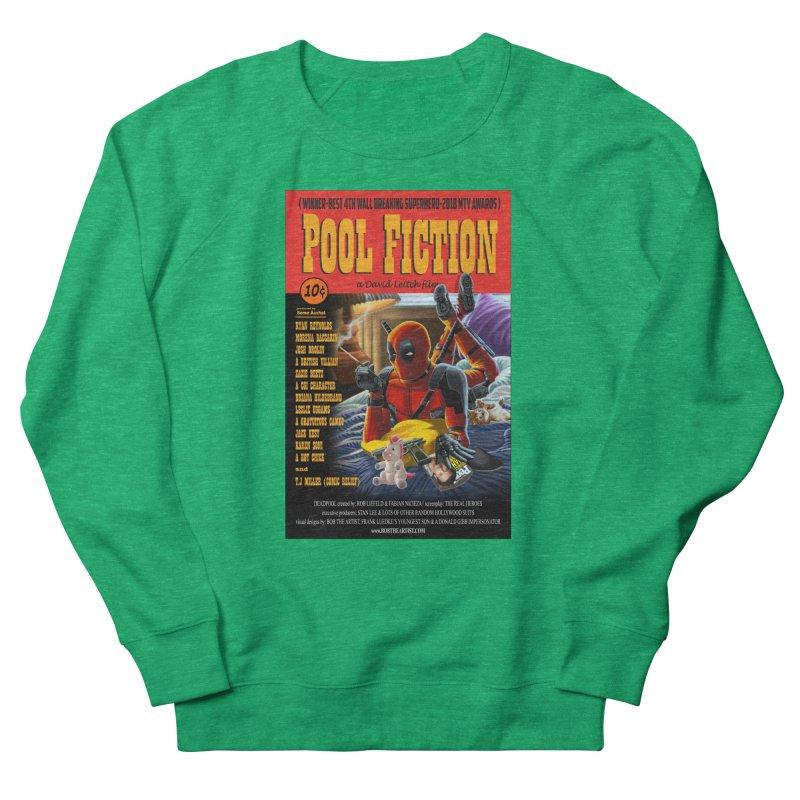 Pool Fiction Women's Sweatshirt by bobtheTEEartist's Artist Shop
