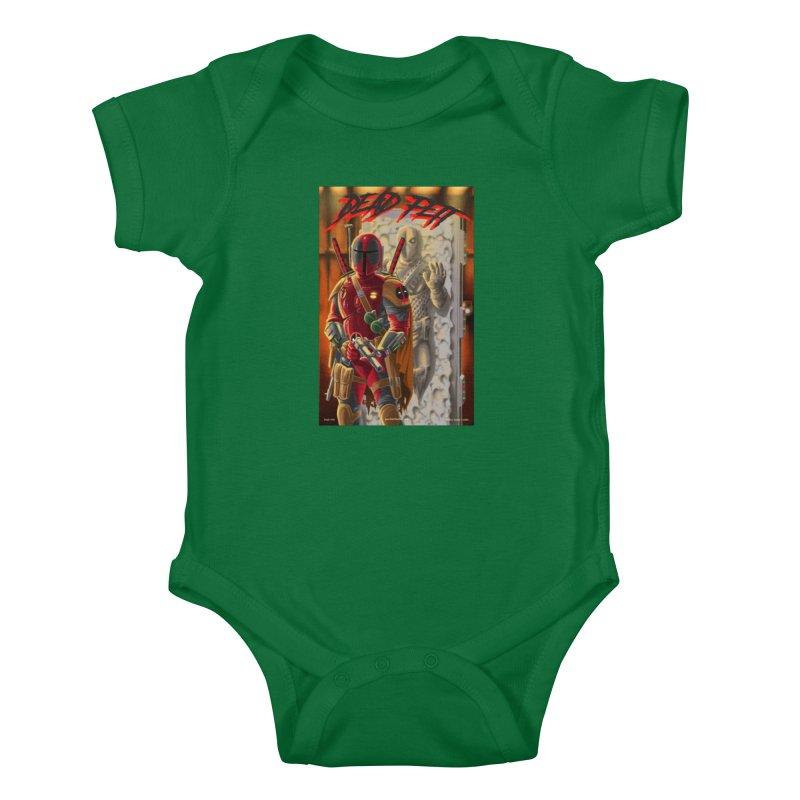 Dead Fett Kids Baby Bodysuit by bobtheTEEartist's Artist Shop