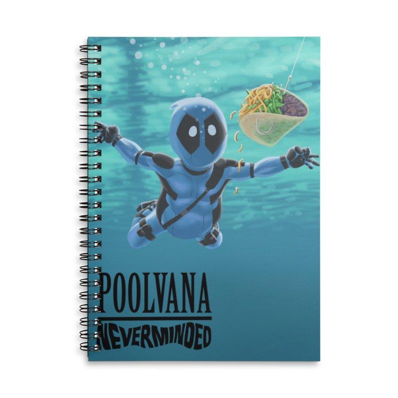 Poolvana Accessories Notebook by bobtheTEEartist's Artist Shop