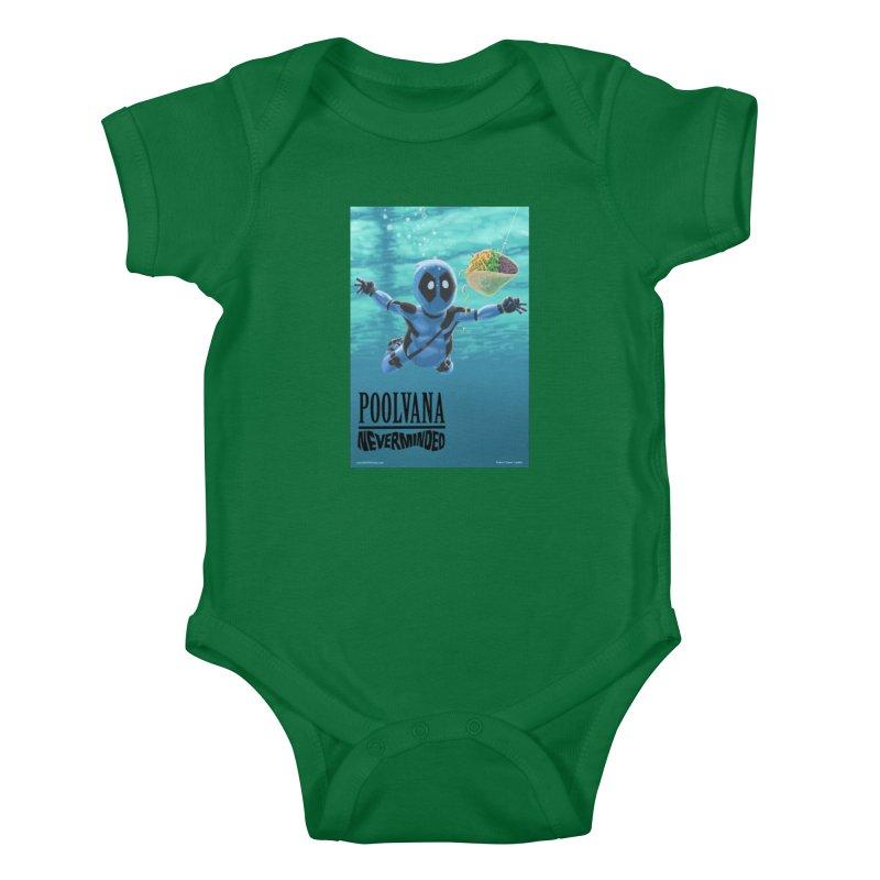 Poolvana Kids Baby Bodysuit by bobtheTEEartist's Artist Shop