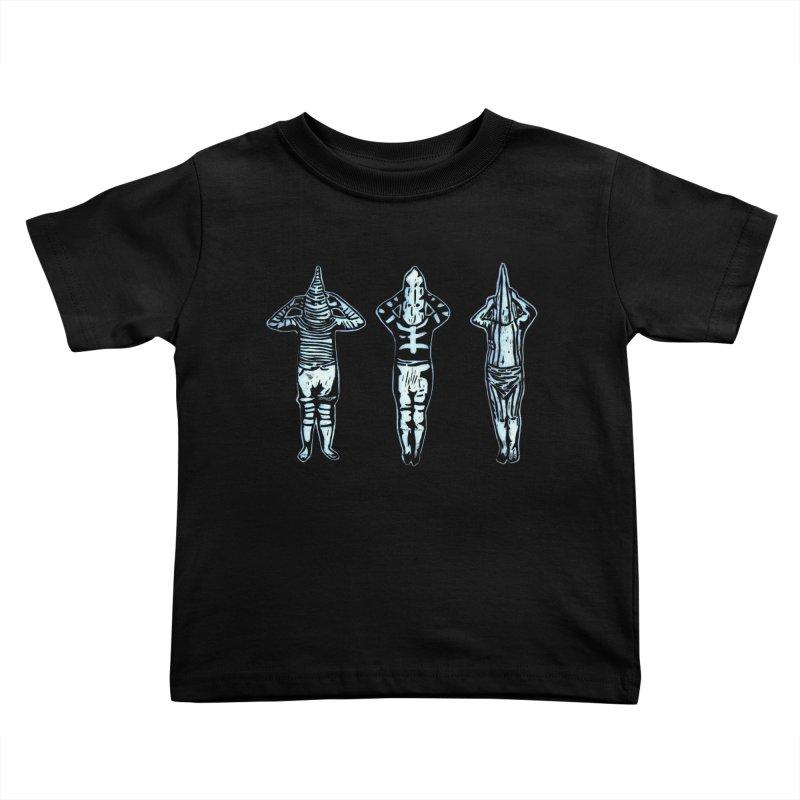 Selk'nam Kids Toddler T-Shirt by bobvogt's Artist Shop
