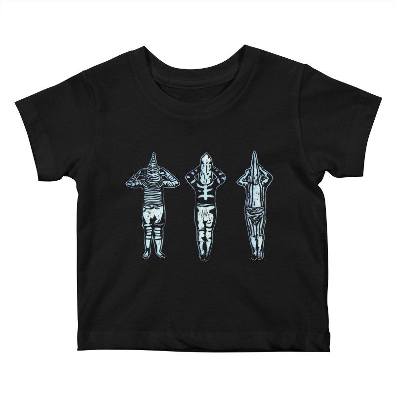 Selk'nam Kids Baby T-Shirt by bobvogt's Artist Shop