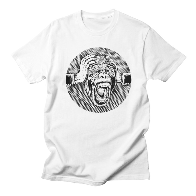 Hear no evil Men's T-shirt by bobvogt's Artist Shop