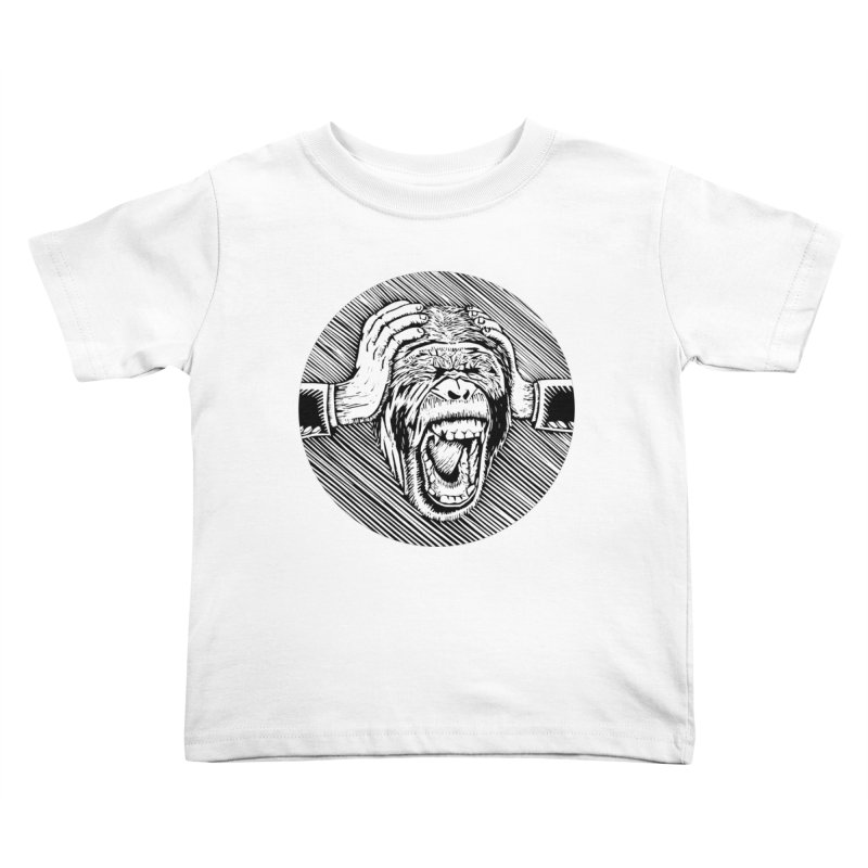 Hear no evil Kids Toddler T-Shirt by bobvogt's Artist Shop