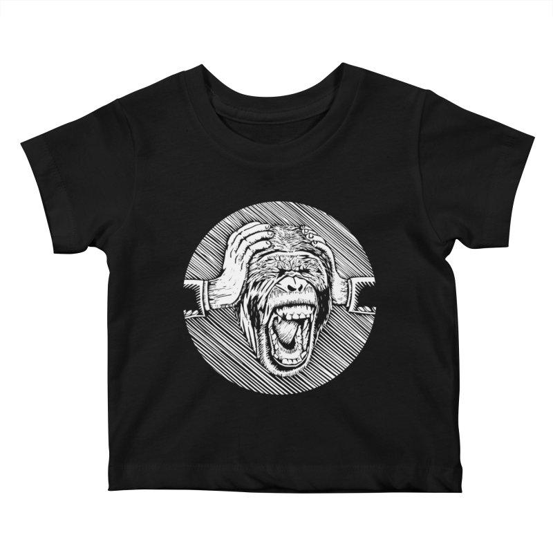 Hear no evil Kids Baby T-Shirt by bobvogt's Artist Shop