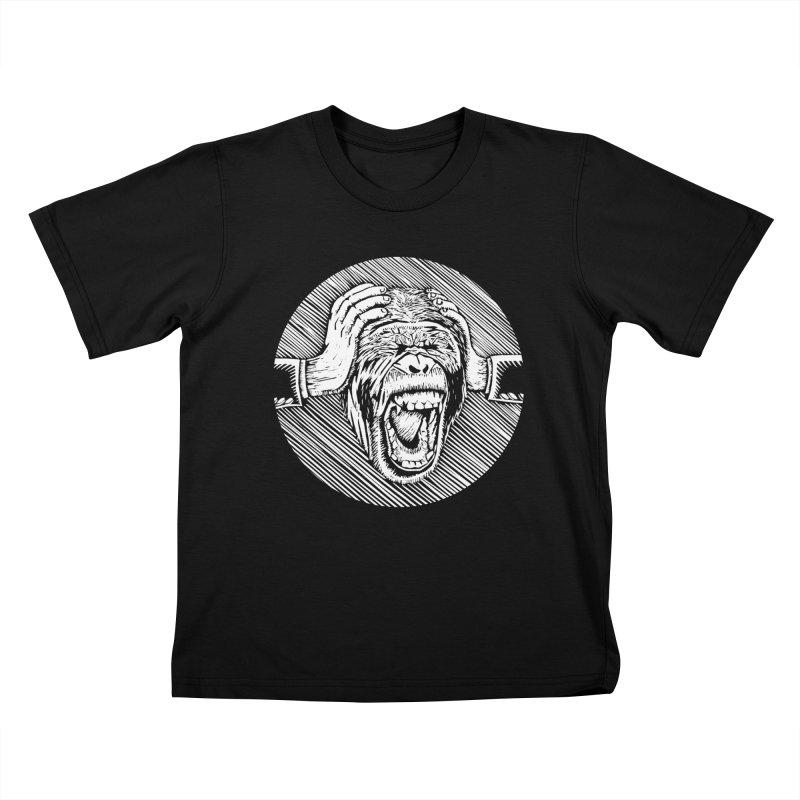 Hear no evil Kids T-Shirt by bobvogt's Artist Shop