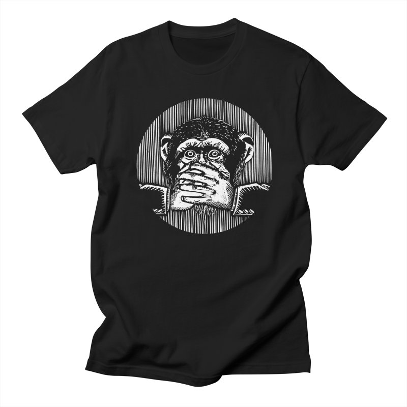 Speak no evil Men's T-shirt by bobvogt's Artist Shop