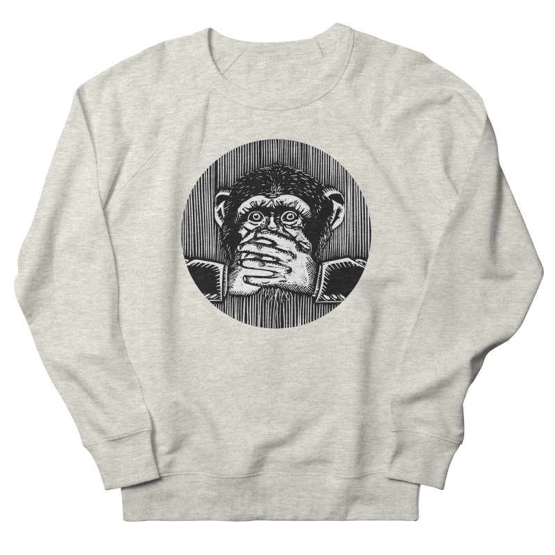 Speak no evil Men's Sweatshirt by bobvogt's Artist Shop