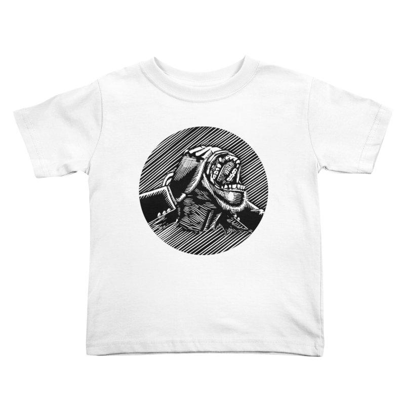 See no evil Kids Toddler T-Shirt by bobvogt's Artist Shop
