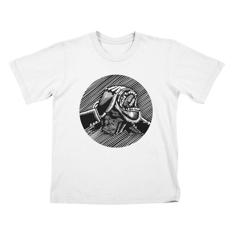 See no evil Kids T-shirt by bobvogt's Artist Shop