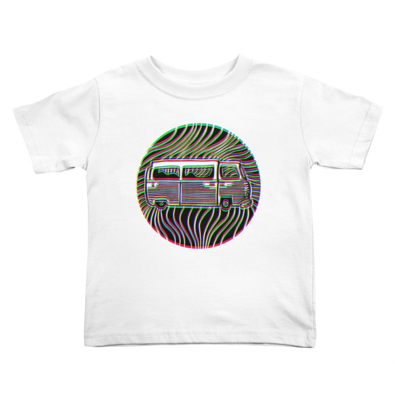 Road trip Kids Toddler T-Shirt by bobvogt's Artist Shop