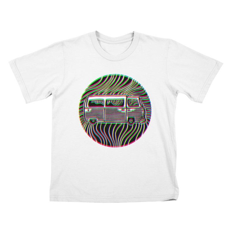 Road trip Kids T-shirt by bobvogt's Artist Shop