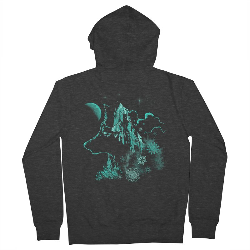 Winter Men's French Terry Zip-Up Hoody by bobygates's Artist Shop