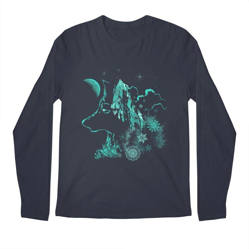 Winter Men's Regular Longsleeve T-Shirt by bobygates's Artist Shop