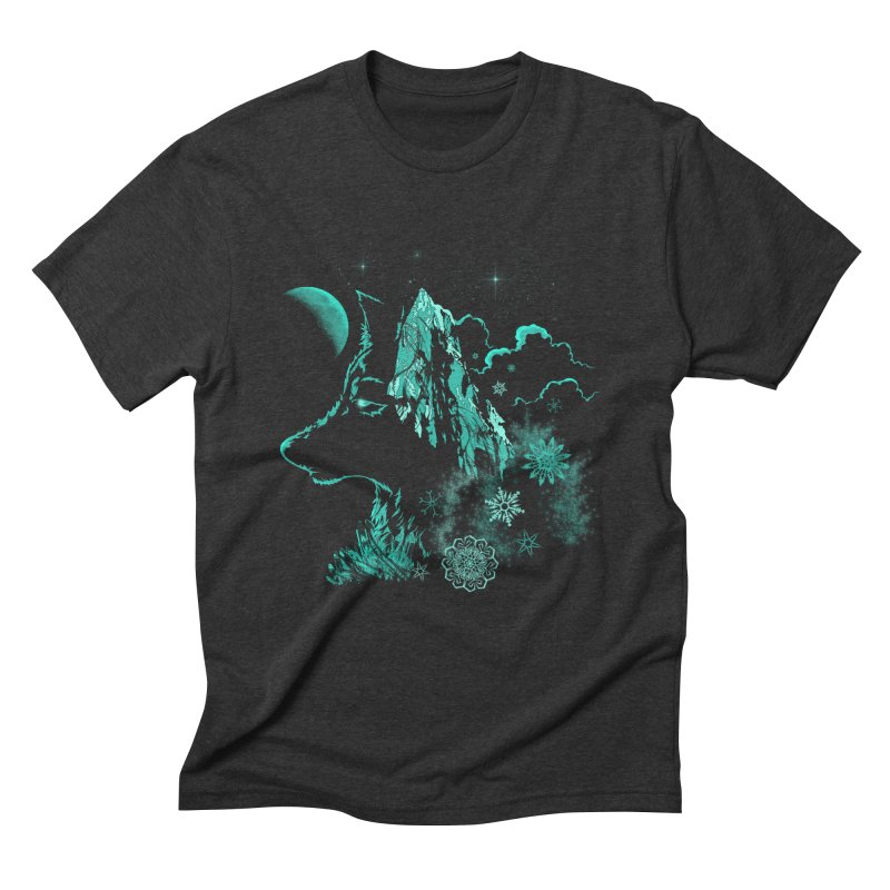 Winter Men's Triblend T-Shirt by bobygates's Artist Shop
