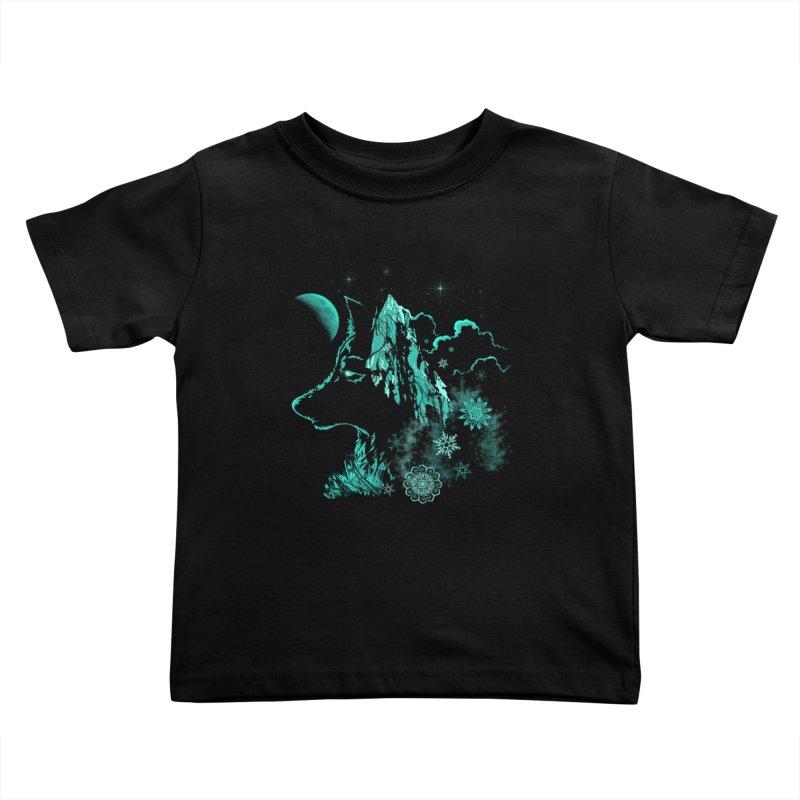Winter Kids Toddler T-Shirt by bobygates's Artist Shop