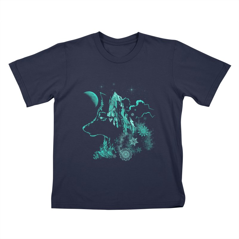 Winter Kids T-shirt by bobygates's Artist Shop