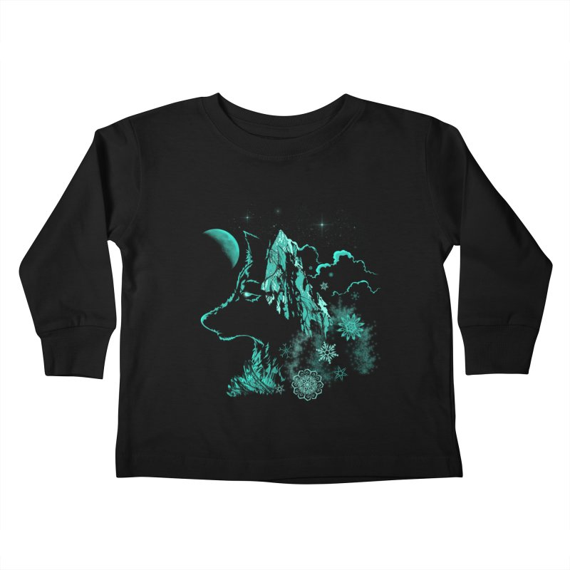 Winter Kids Toddler Longsleeve T-Shirt by bobygates's Artist Shop