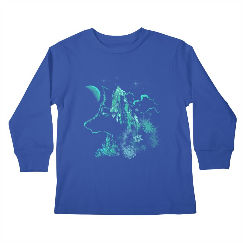 Winter Kids Longsleeve T-Shirt by bobygates's Artist Shop