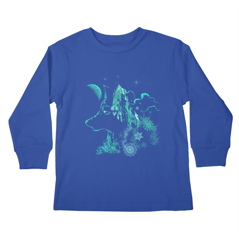 Winter Kids Longsleeve T-Shirt by bobygates's Artist Shop