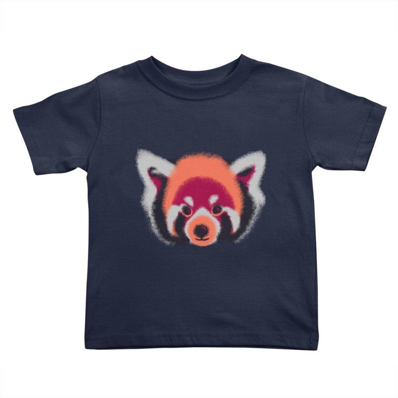 Fuzzy Kids Toddler T-Shirt by bobygates's Artist Shop