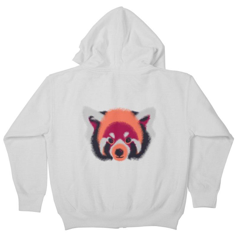Fuzzy Kids Zip-Up Hoody by bobygates's Artist Shop