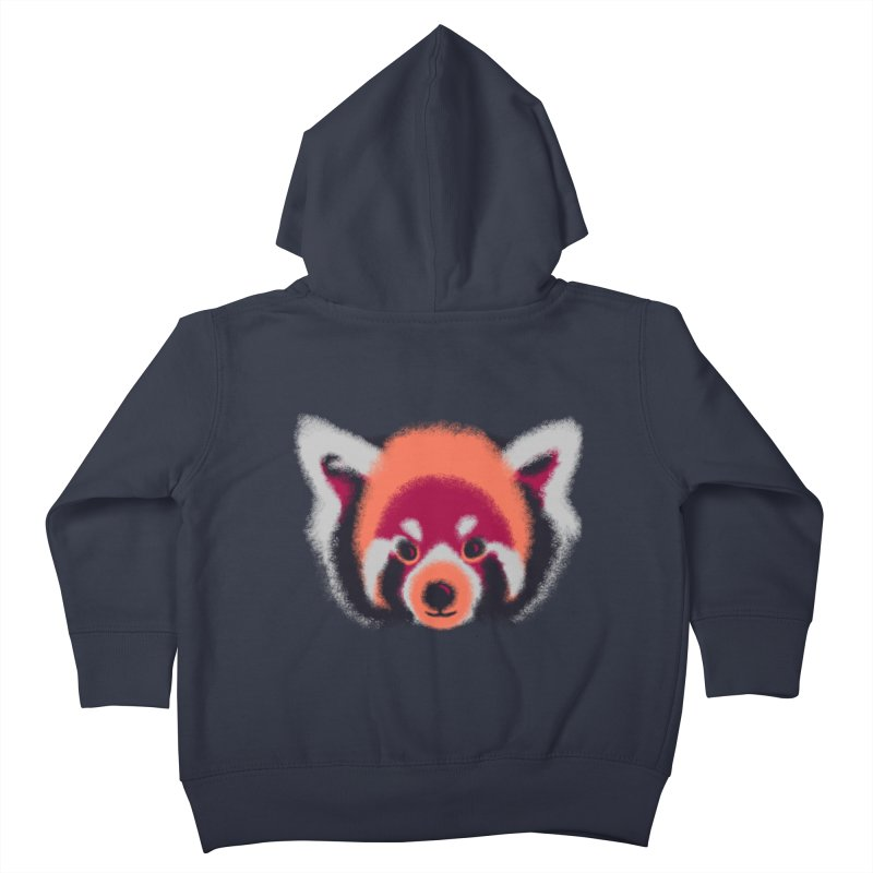 Fuzzy Kids Toddler Zip-Up Hoody by bobygates's Artist Shop