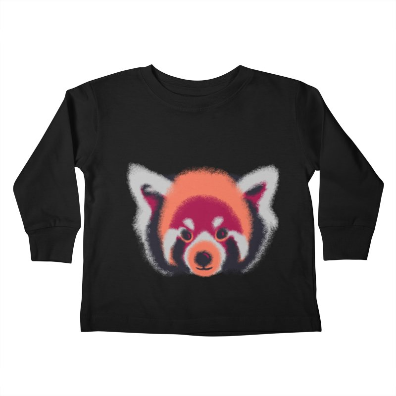Fuzzy Kids Toddler Longsleeve T-Shirt by bobygates's Artist Shop