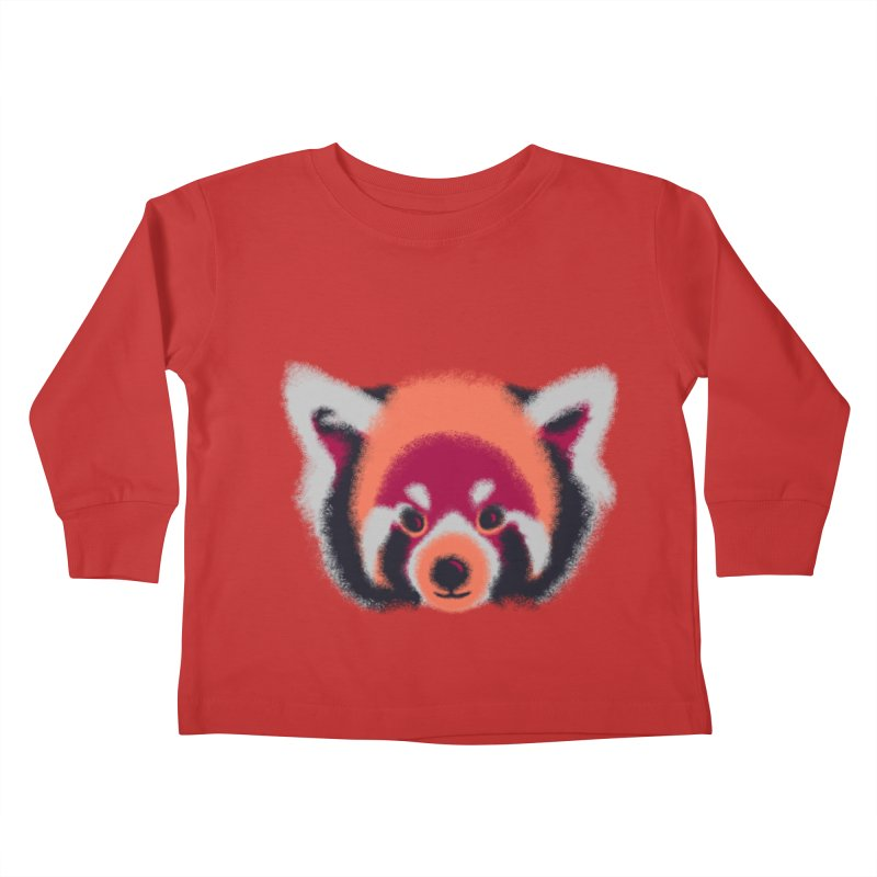 Fuzzy Kids Toddler Longsleeve T-Shirt by bobygates's Artist Shop