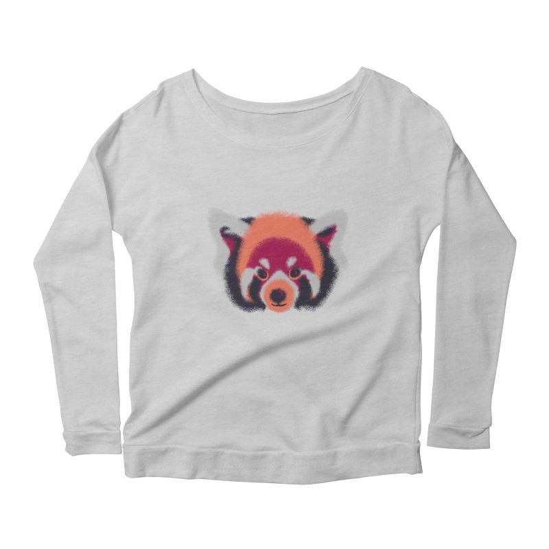 Fuzzy Women's Scoop Neck Longsleeve T-Shirt by bobygates's Artist Shop