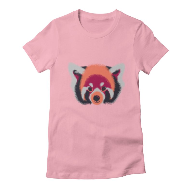 Fuzzy Women's Fitted T-Shirt by bobygates's Artist Shop