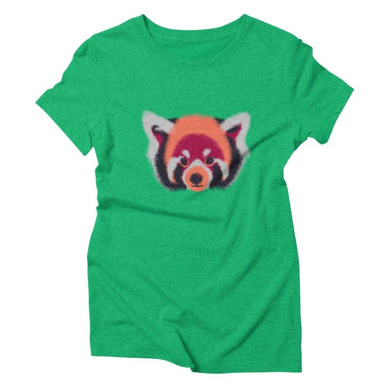 Fuzzy Women's Triblend T-Shirt by bobygates's Artist Shop