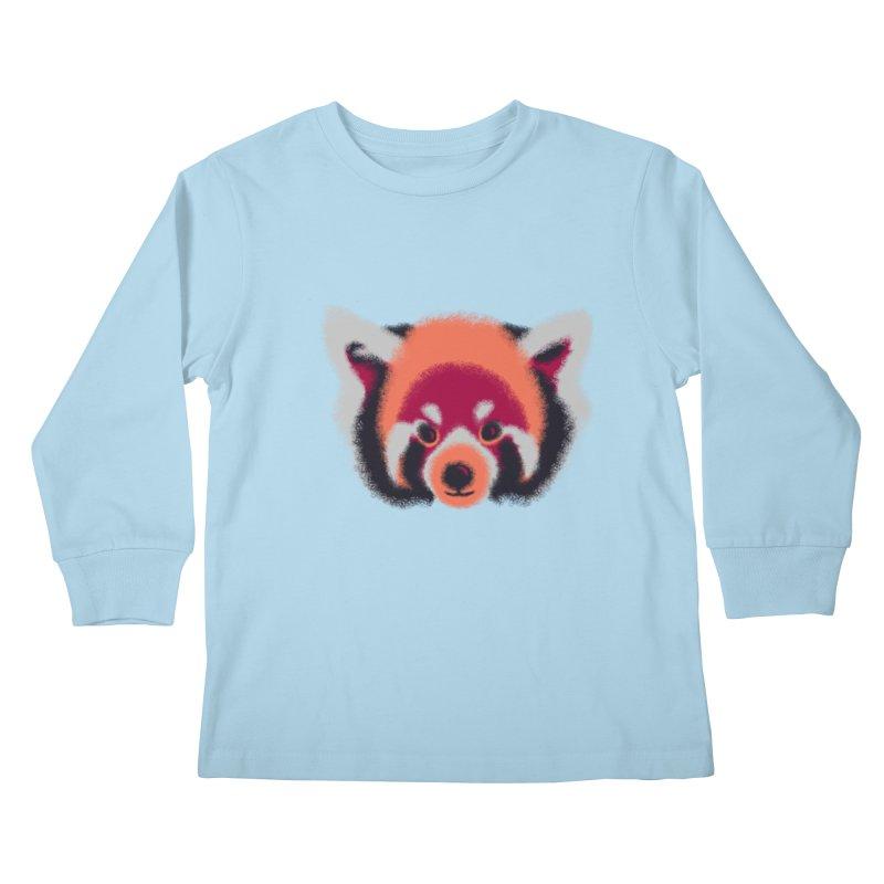 Fuzzy Kids Longsleeve T-Shirt by bobygates's Artist Shop