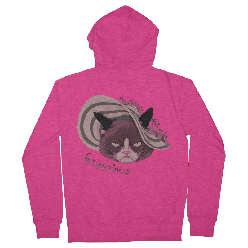 Summertime Grumpiness Women's French Terry Zip-Up Hoody by bobygates's Artist Shop