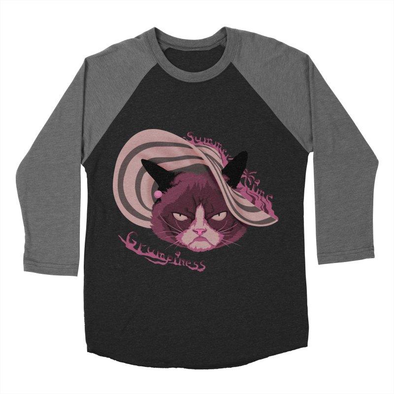 Summertime Grumpiness Men's Baseball Triblend T-Shirt by bobygates's Artist Shop